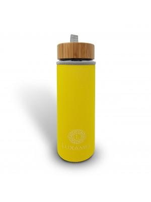 Thermohülle für Luxamel Teeflaschen in 450ml Größe (gelb)