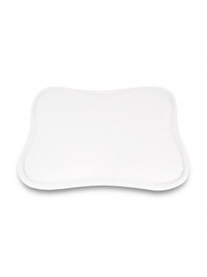 Luxamel Babykopfkissenbezug(Weiß, Kissenbezug)