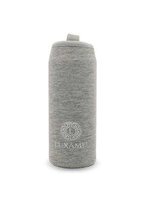 Thermohülle, grau für Teeflasche 450ml