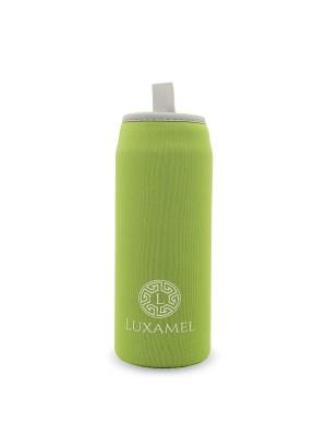 Thermohülle, grün für Teeflasche 450ml