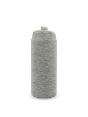 Thermohülle, grau ohne Logo für Teeflasche 450ml