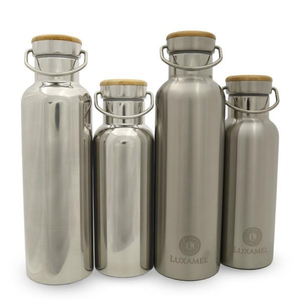 Edelstahl-Sportflasche doppelwandig Modelle