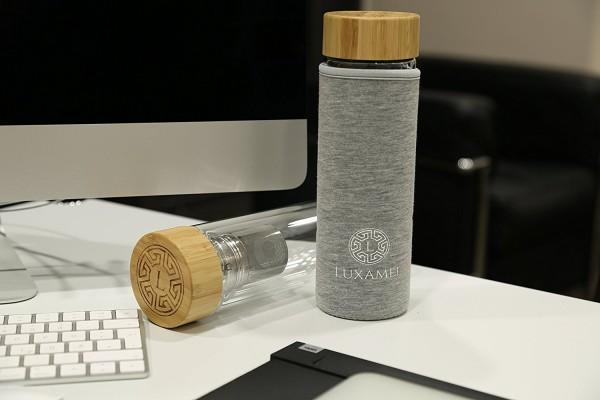Stylische Thermohülle für Teeflaschen