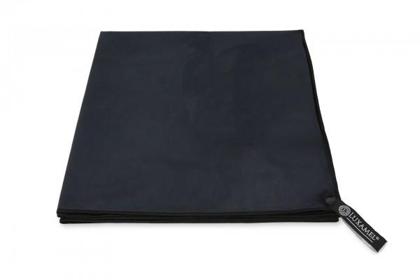 Microfaser Handtuch saugstark schwarz