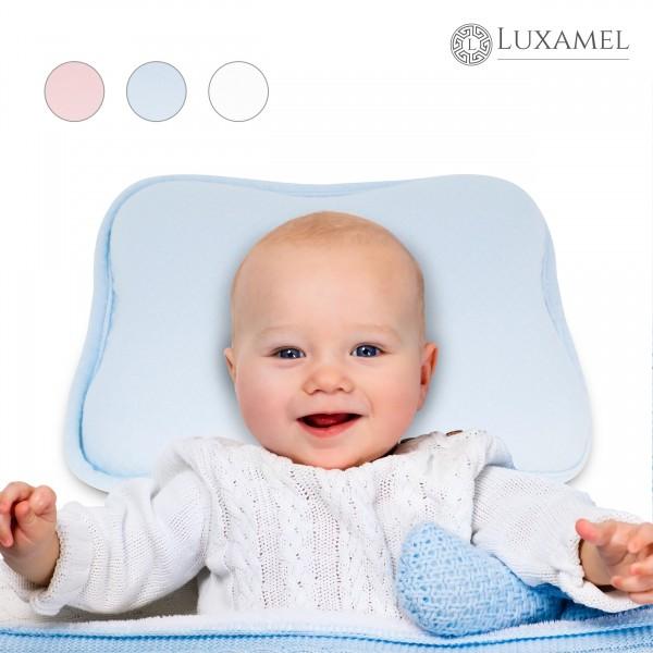 Babykissen blau von Luxamel