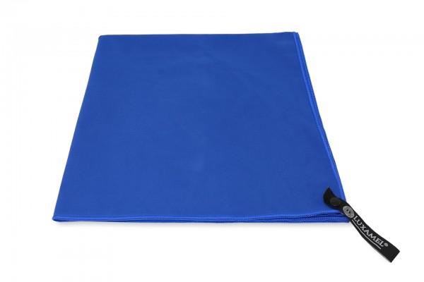 Microfaser Handtuch saugstark blau