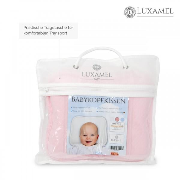Babykissen pink Tragetasche