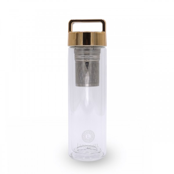 Teeflasche Gold Neu 380ml