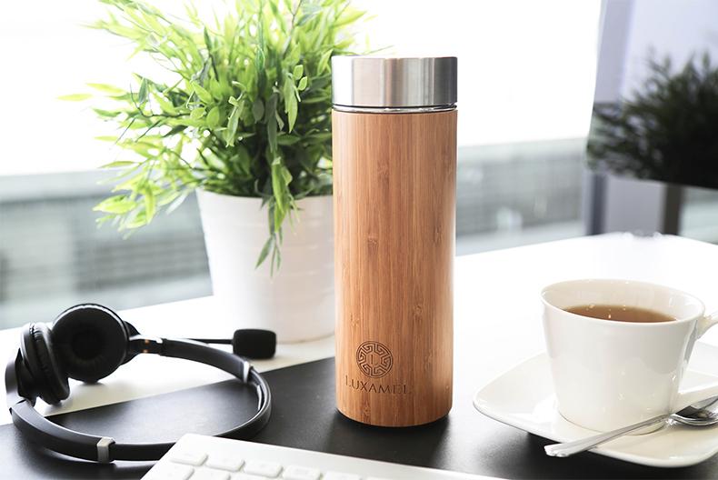Bambusflasche