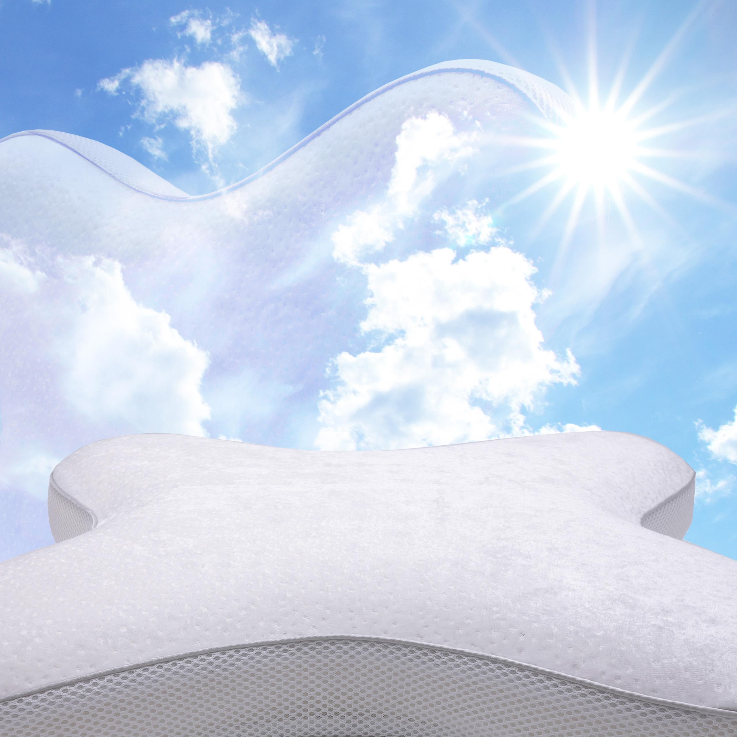 Mit dem Bauchschläferkissen von Luxamel entspannt einschlafen</a> entspannt einschlafen