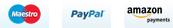 Zahlungsarten: Paypal, Überweisung, Bankeinzug